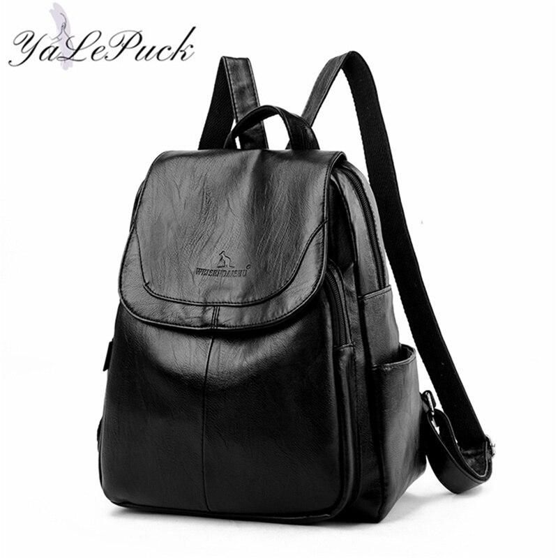 Дизайнерские кожаные рюкзаки для женщин, школьные рюкзаки для девочек-подростков, рюкзак в стиле ретро, рюкзак, 2020