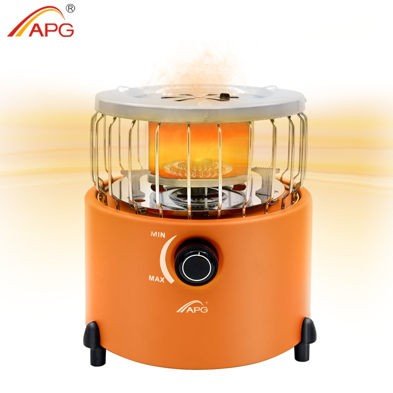 APG Portable 2 In 1 Camping Stove Gas Heater Outdoor Warmer Propane Butane Tent Heater Cooking System