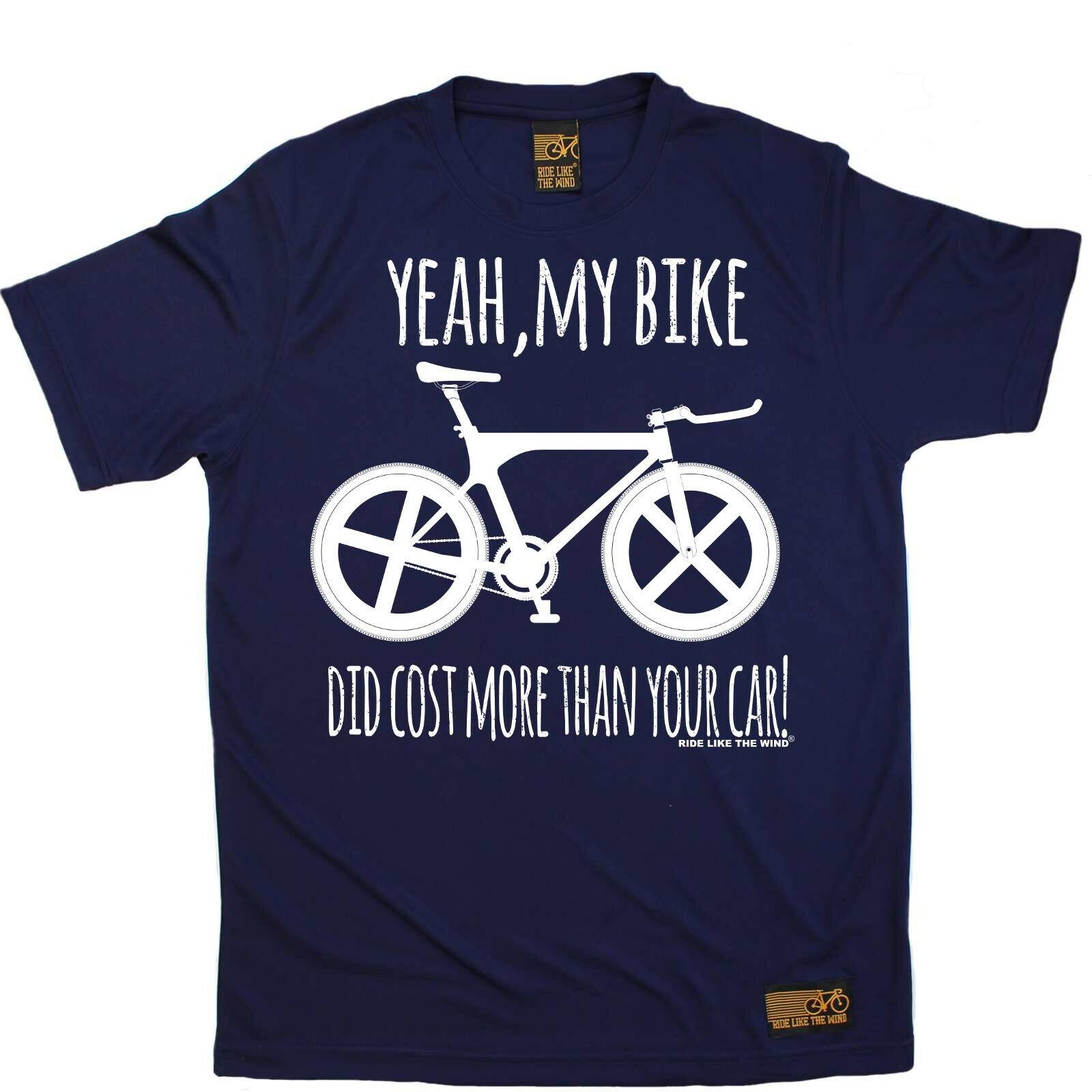 Ciclismo Yeah My Bike hizo costo más transpirable top camiseta DRY FIT camiseta