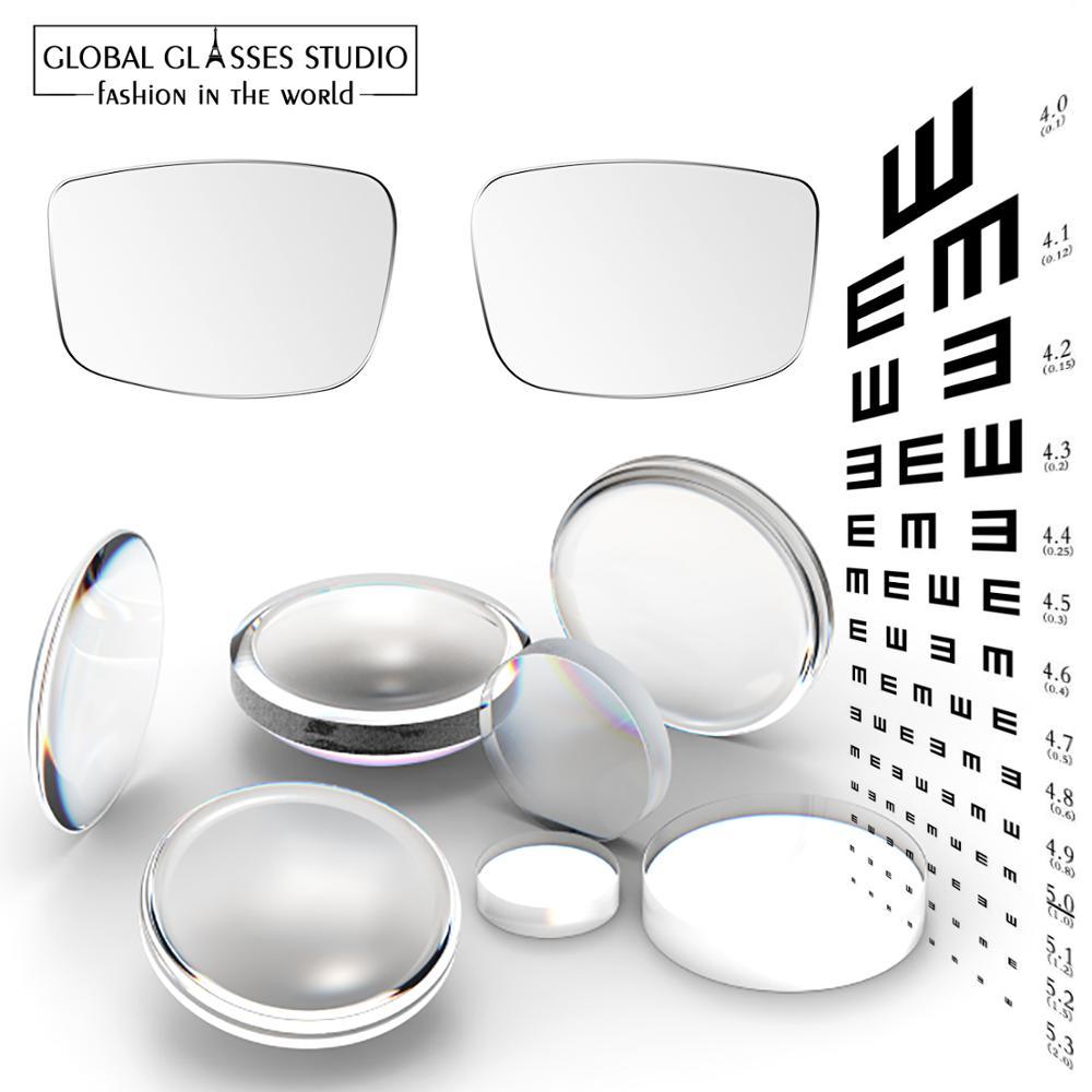 Best Eyeglasses Lenses Glasses Frame Setting Rx Myopia Photochromic Reading Scratch-proof Anti-reflective Coating HMC Lf01