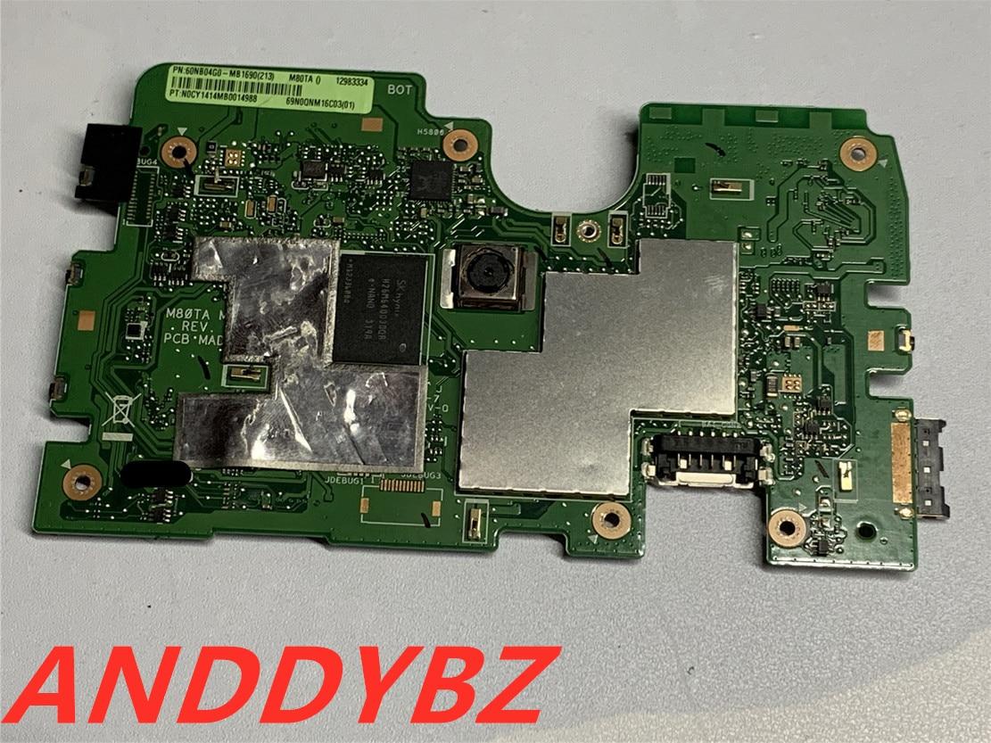 Original 60NB04G0-MB1690 placa base para Asus VivoTab Note 8 M80TA MAIN_BD _...