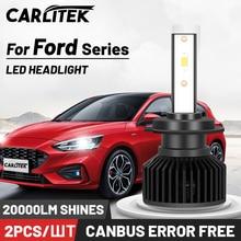 CARLITEK H1 H7 H4 Led Canbus Aucune Erreur H8 H9 H13 H11 Voiture Lumière 20000LM 9007 HB5 9005 HB4 9006 HB3 Lampe 12V Pour Ford Fusion Fiesta