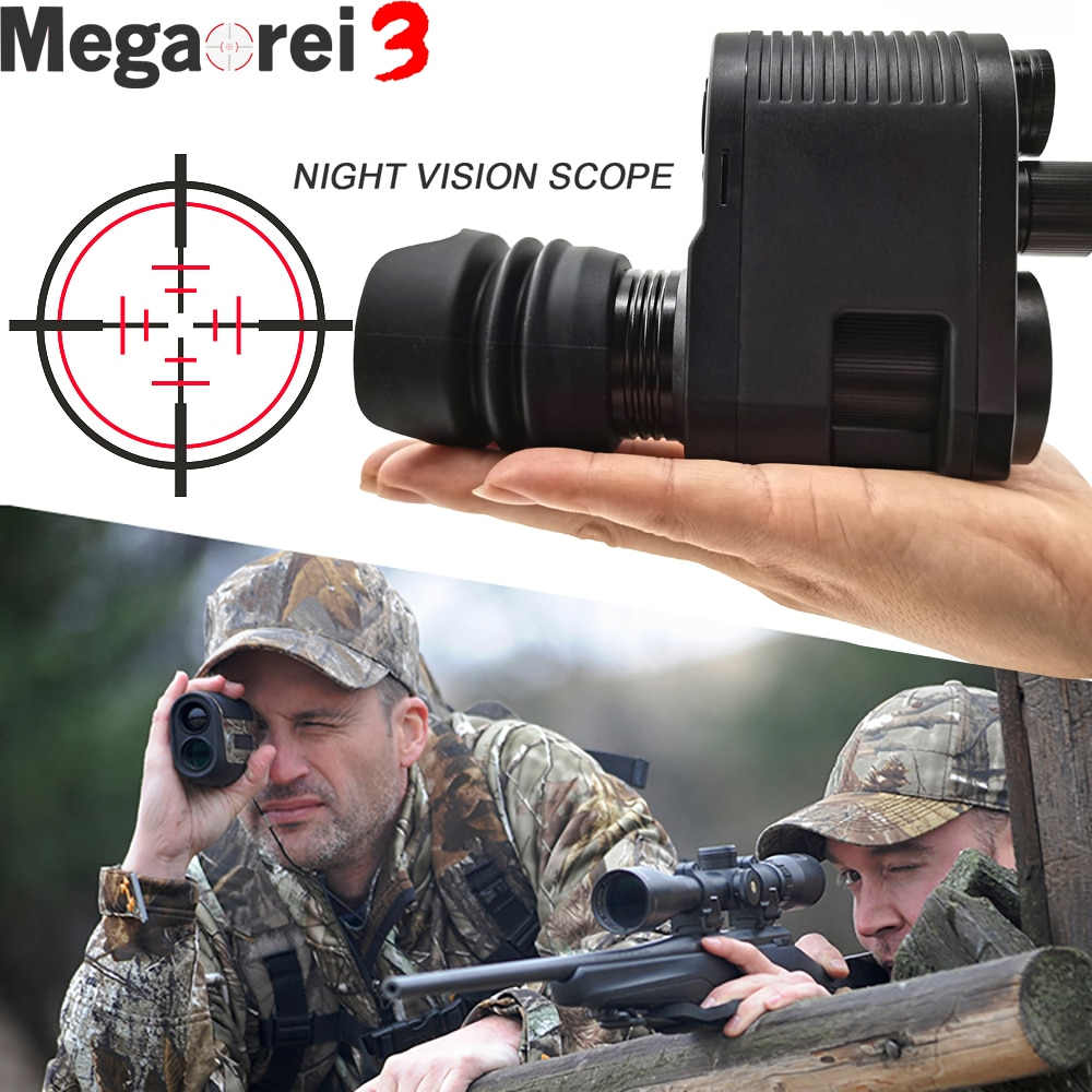 Megaorei 3 Night Vision Rifle Scope HD720P Video Record Photo Taking NV007 Hunting Optical Sight Cam