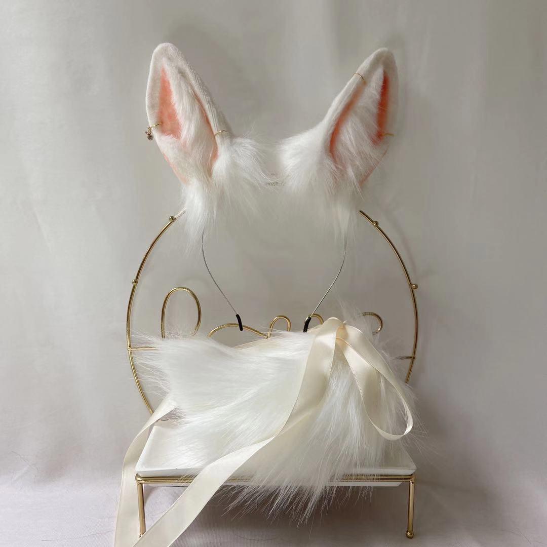 أرنب اليشم ، آذان الوحش والوحش ، آذان القط ، الثعلب ، طوق الشعر ، تأثيري مخصص