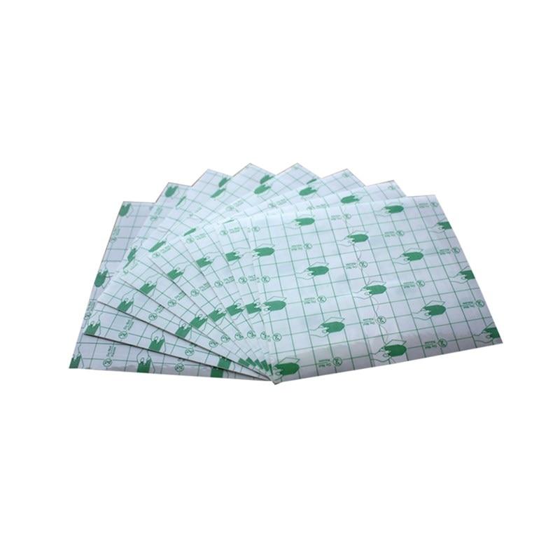 5*5cm/7*7cm/10*10cm filme do plutônio usado para a fixação de curativo ferida impermeável transparente anti-alergia 100 pçs/saco