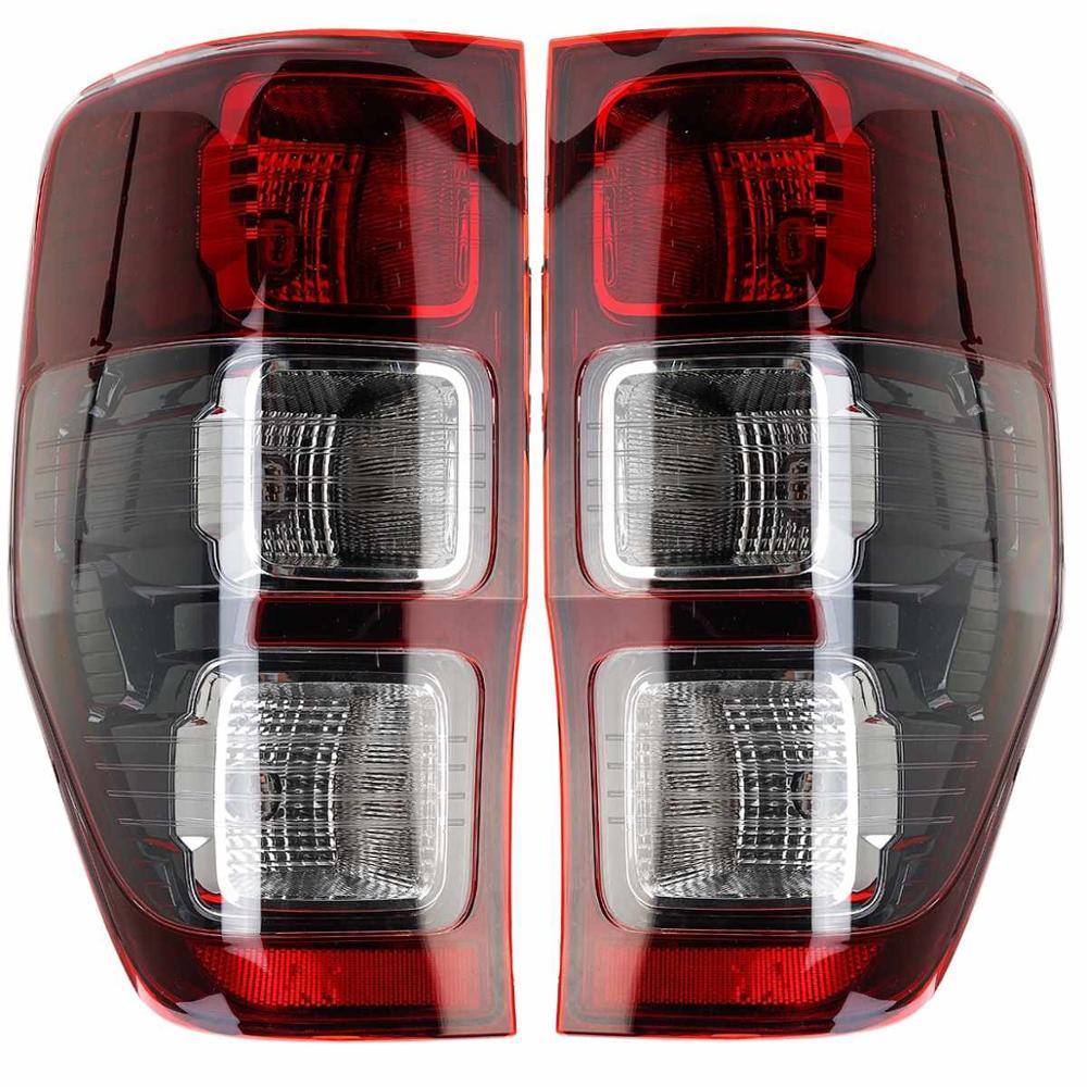 Lh & rh par lanterna traseira para ford ranger mk5 t6 captador cauda traseira luz de freio revers lâmpada 2011 2012 2013 2014 2015 2016 2017 2018