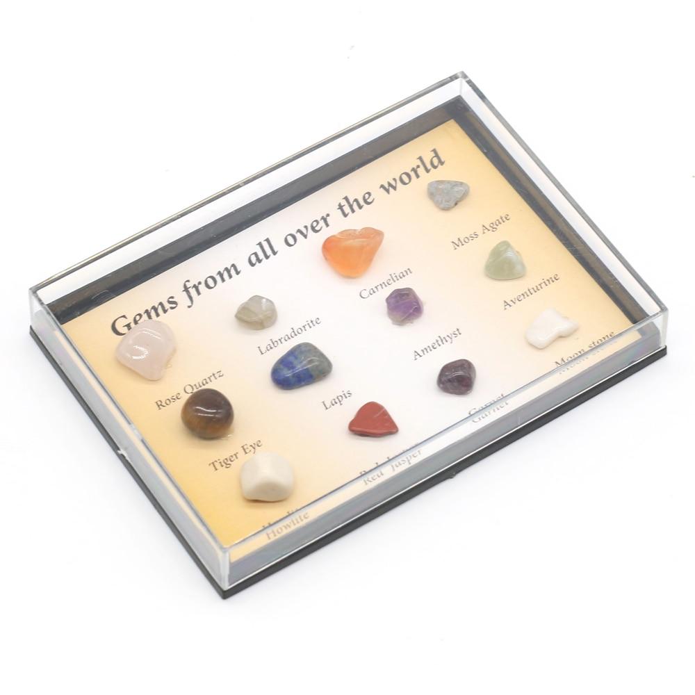 12 шт. изысканный камень высокого качества, маленькие образцы руды для мужчин и женщин, блестящая коллекция, размер 8-10 мм