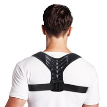 Adjustable Back Posture Corrector Wrist Brace Clavicle Spine Back Shoulder Lumbar Prevents Slouching Injury Aid