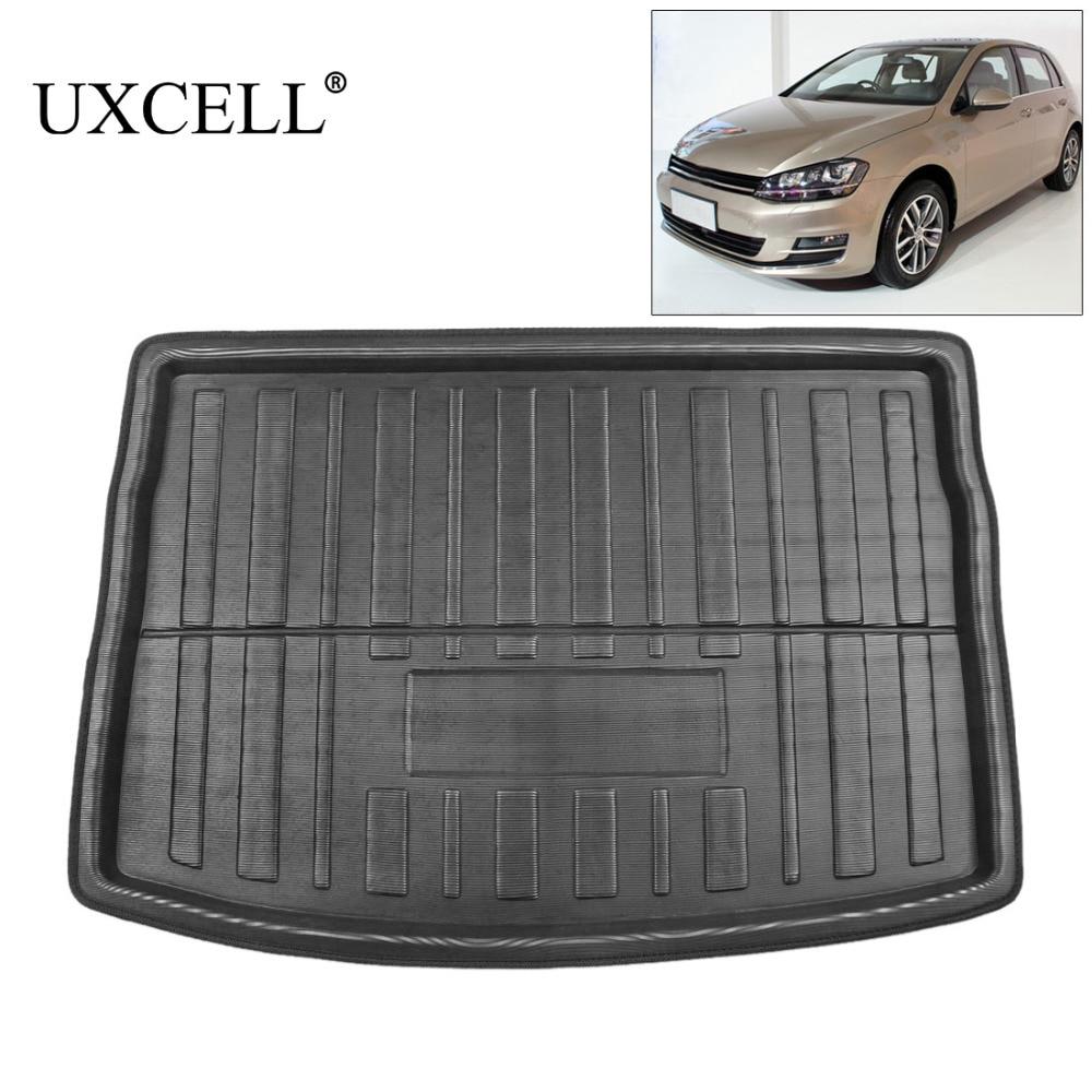 UXCELL PE + EVA пенопластовый пластиковый задний багажник загрузки лайнер грузовой коврик пол лоток ковер для VW Jetta Sedan Tiguan Golf 6 7 MK7 Polo 09-17