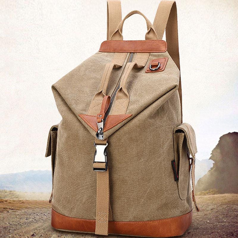 Новые мужские и женские мужские рюкзаки, холщовые износостойкие мужские рюкзаки с большой вместимостью и сильным трендом, дорожные рюкзаки