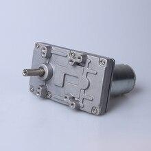 Remis à neuf Takanawa 555 métal motoréducteur 12 V 24VDC 40-80 tr/min pour rideaux électriques four électrique pop-corn machine modèle réservoirs etc
