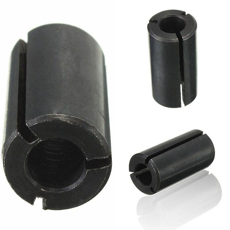Herramienta de enrutador de broca de manguito reductor de vástago adaptador de pinza de 12,7mm a 6,35mm husillo CNC