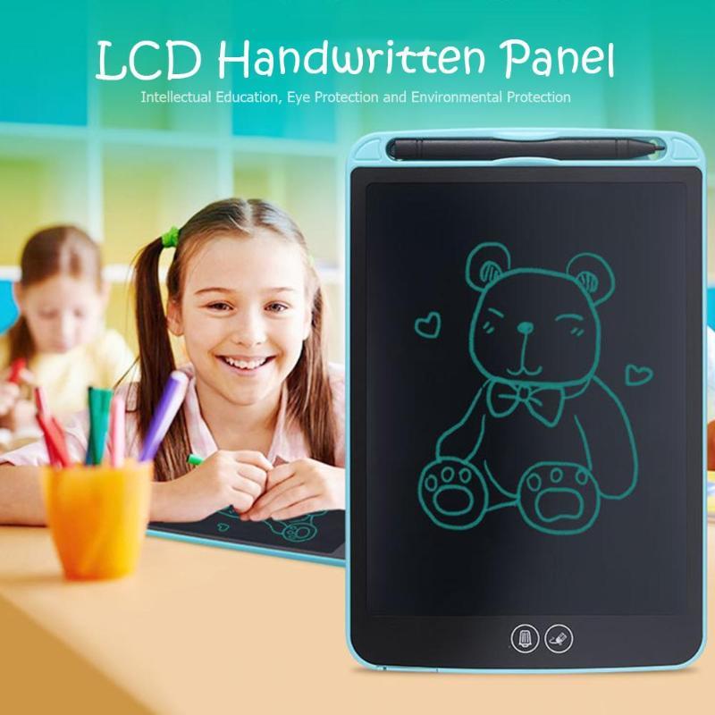 10/12 polegada Fino Desenho Pintura Prancheta Eletrônica Digital LCD Escrita Tablet Montessori Brinquedos para Presente de Natal Das Crianças