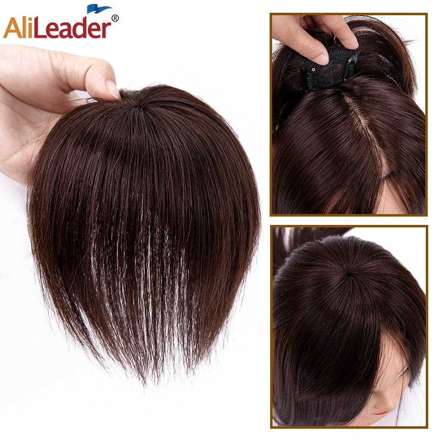 Alileader Natural Hair Pieces For Women Straight Synthetic Protein Silk Hair Pieces Quality Clip In Hair Pieces Can Be Dyed cat wet food felix appetizing pieces of pauch for cats pieces in jelly lamb 24 85 g