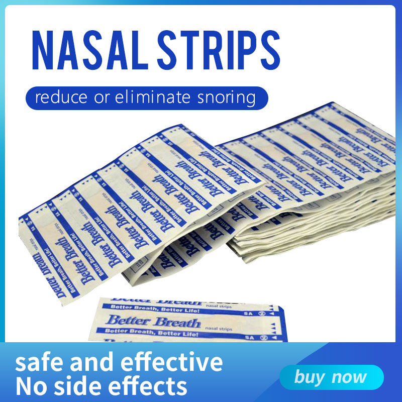 200 pcs/lot Better breath Breathe Right Nasal Strips Anti Snoring Strips Sleep & Snoring Nasal Strip