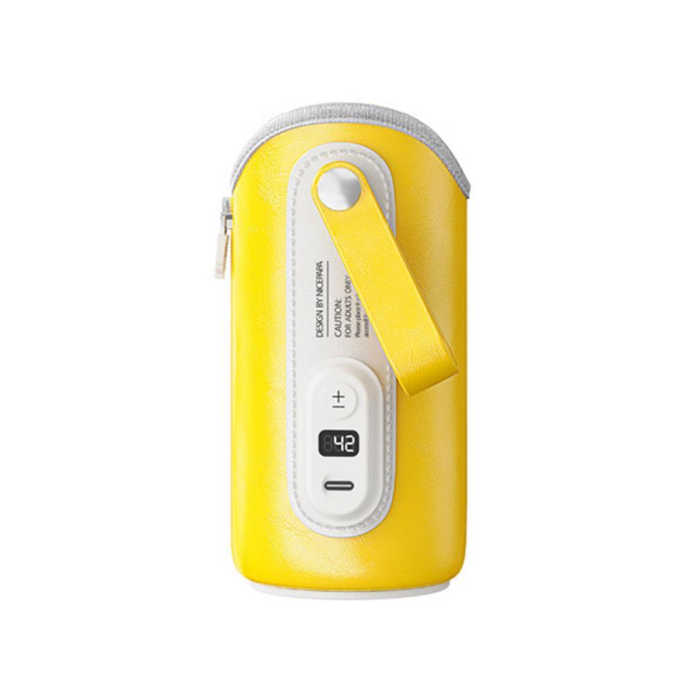Портативный подогреватель для бутылок с USB, автомобильный термостат для бутылок с молоком, подогреватель с 5 уровнями регулировки температу...