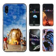 Travis scott astroworld housse de téléphone coque pour XIAOMI Redmi 7a 8a S2 K20 NOTE 5 5a 6 7 8 8t 9 9s pro max noir couverture tendance