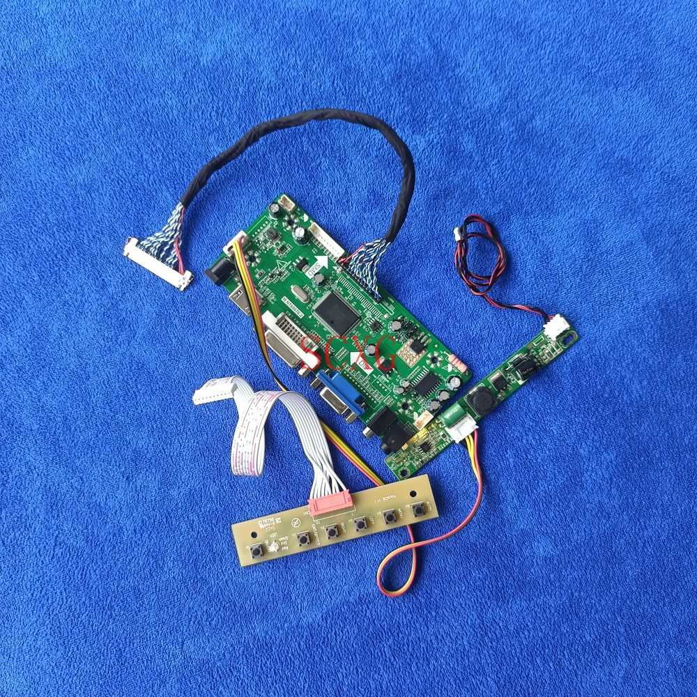 ل HM236WU1/HR236WU1/M236MWF2/M236MWN4 M.NT68676 لوحة القيادة 1920*1080 مجموعة عرض LVDS 30 دبوس LED/LCD HDMI-متوافق DVI VGA
