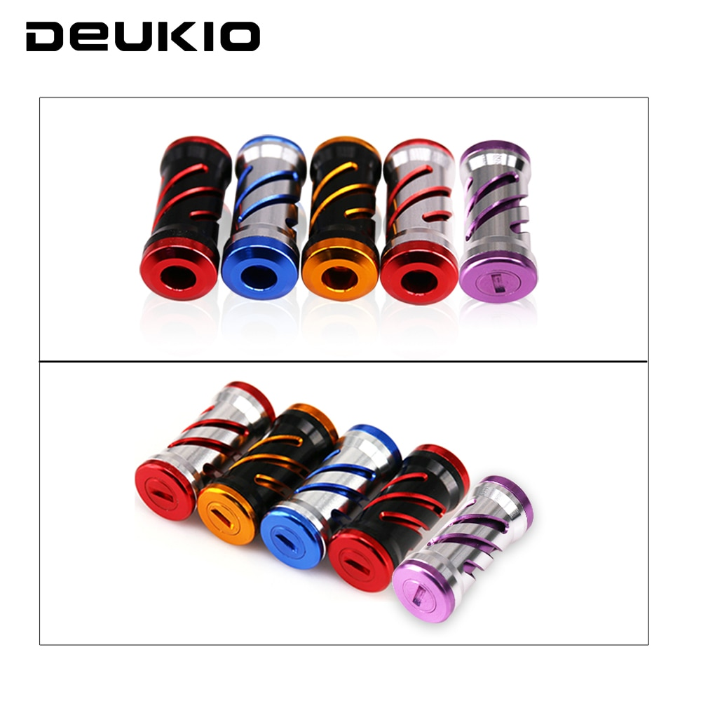 DEUKIO Fishing Reel Handle Knob Dia 7mm Fishing Rocker Aluminum Alloy Knob for Spinning Wheel Baitcasting Component Kastking