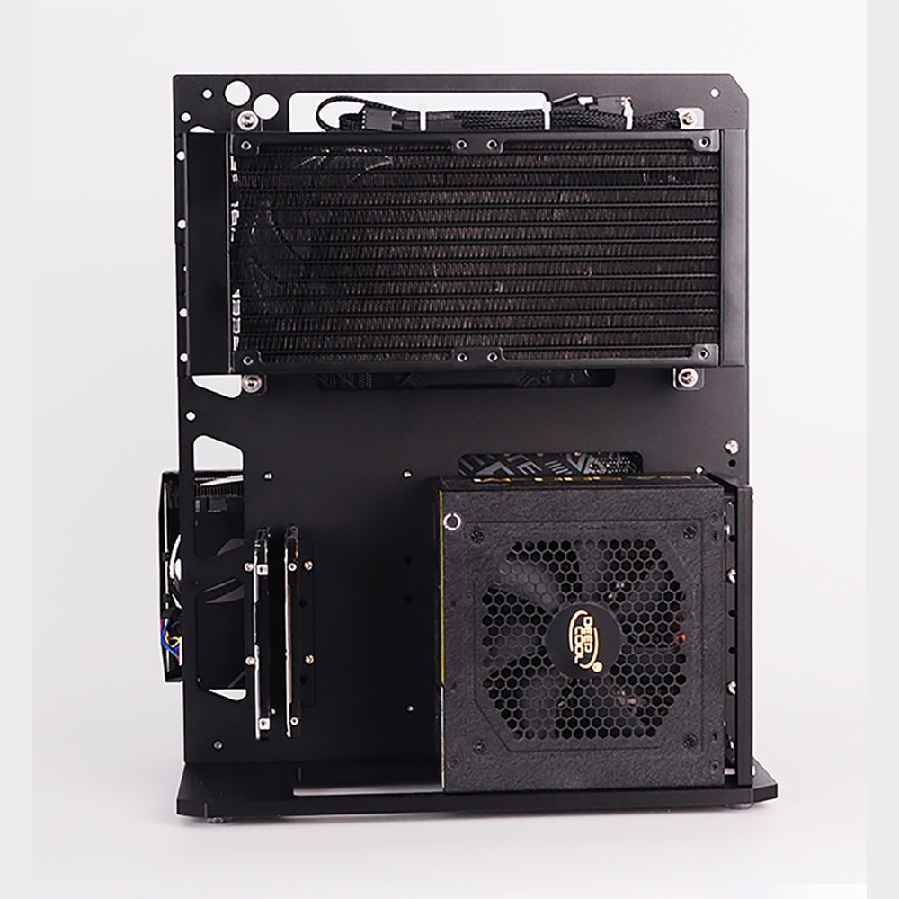 PC Case  All Aluminum Open Air Test Bench Compatible ATX MATX ITX Motherboard Computer Cooling Vertical Personalized Chassis enlarge