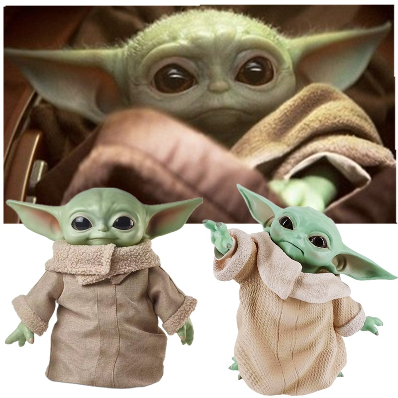 8CM/16CM/30CM/ Star Wars Glow Yoda Baby Action Figure Toys Yoda Figure Toys Yoda Master Figuras Dolls Toy Gifts for Children