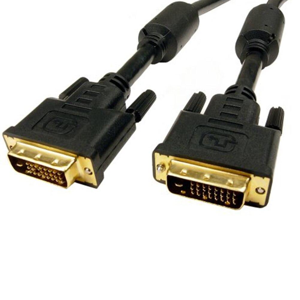 DVI-D activo de enlace Dual 24 + 1 macho a VGA macho...
