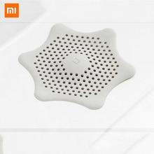 Xiaomi 16cm Silicone Flume Filter Mesh Sink Strainer Bath Hair Drain Hole Bathtub Wash Basin Sundries Filter prevents clogging