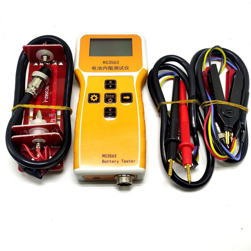 RC3563 High-precision Electric Vehicle Internal Resistance Tester True Four-wire AC Lithium Lead Acid Lithium Battery Detector