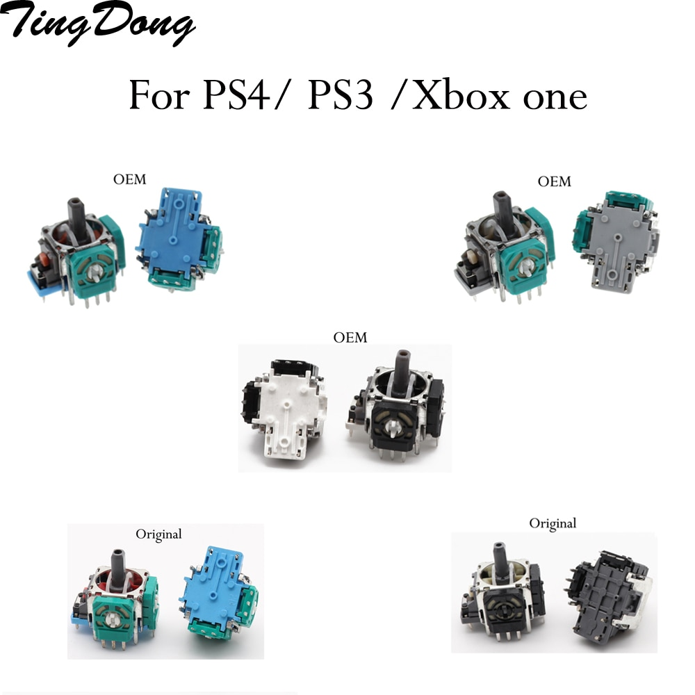 1PCS  Original OEM For PS4 3D Rocker Joystick Axis Analog Sensor Replacement For Sony PlayStation 4 Wireless Controller