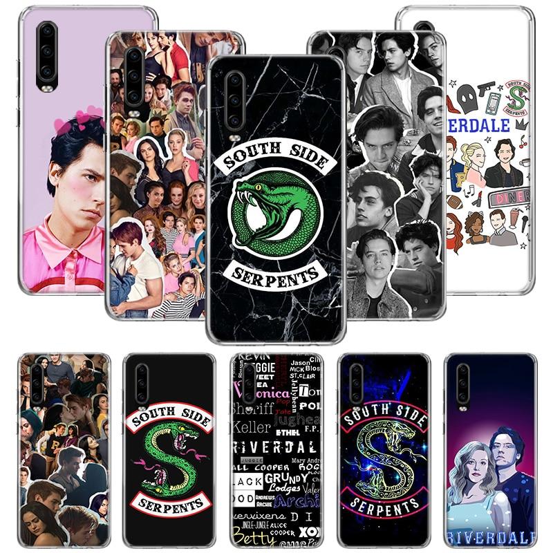 Funda para TV Riverdale para Huawei P20 P30 P40 P10 Mate 30 10 20 Lite Pro P Smart Z 2018 2019, funda para teléfono con patrón