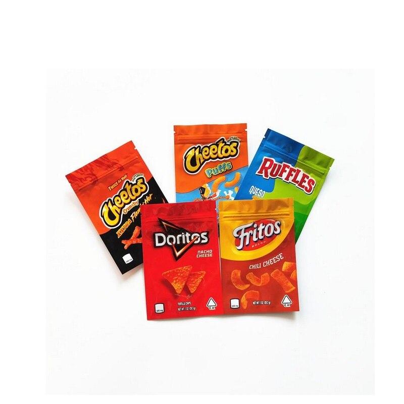 Хрустящие огнестойкие пакеты Хрустящие хрустальные 600 мг, с защитой от запаха