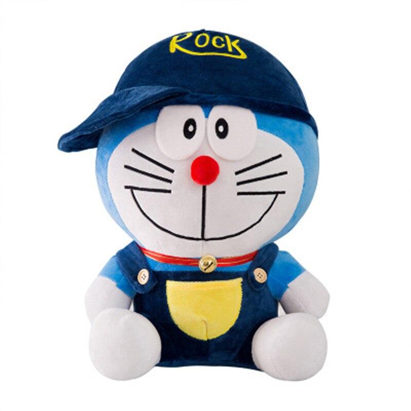 Hot Anime 30-60cm Cartoon Cute Doraemon Plush Toys Stuffed Lovely Cats Animal Doll Soft Baby Pillow for Kids Girls Birthday Gift