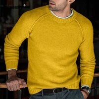 plus size men sweaters patchwork top streetwear masculinas pull homme ropa casual knitted sweater pullovers mens clothing 2021