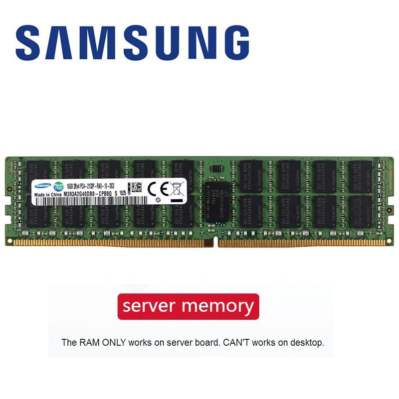 [해외] 삼성 reg ecc ddr4 ram 8gb 4GB 16GB PC4 2133MHz 2400MHz 2666 T 또는 2400 P 2133 V ECC REG 서버 메모리, Samsung