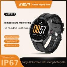 KSUN KSR922 Sport Smart Watch Android Smart Electronics Wearable Devices Men Heart Rate and Blood Pr