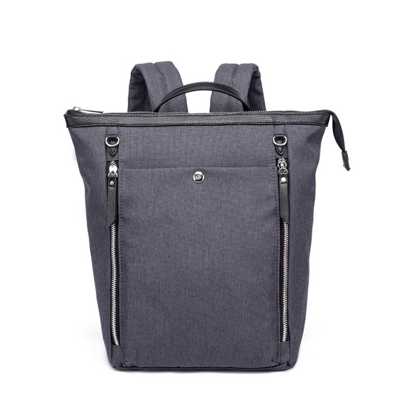 Новинка 2021, женский холщовый рюкзак-трансформер, многофункциональный рюкзак 3 в 1, модный рюкзак для мам