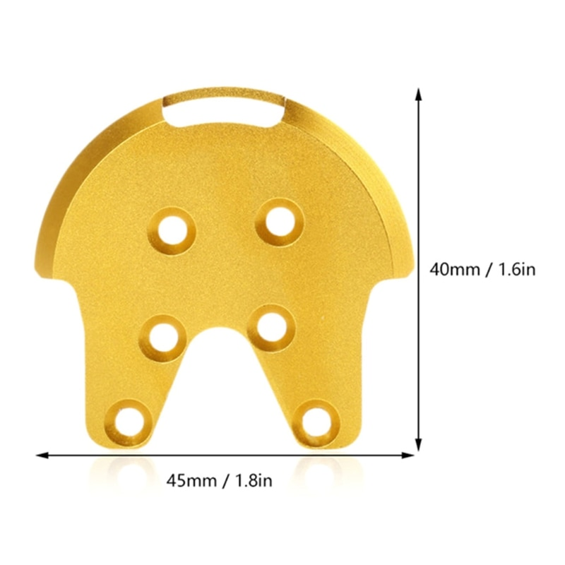 4 Pcs Motor Mount Base Protector Guard Cover Kit Tools for Phantom 2 3 Drone B36E enlarge