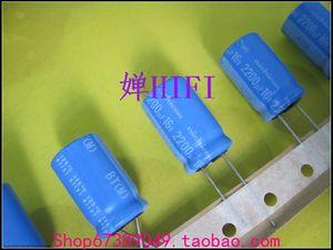 20pcs NICHICON BT 16v2200uf 16x25MM electrolytic capacitor bt 125 degrees 2200uF/16v military industrial capacitor 2200UF 16V