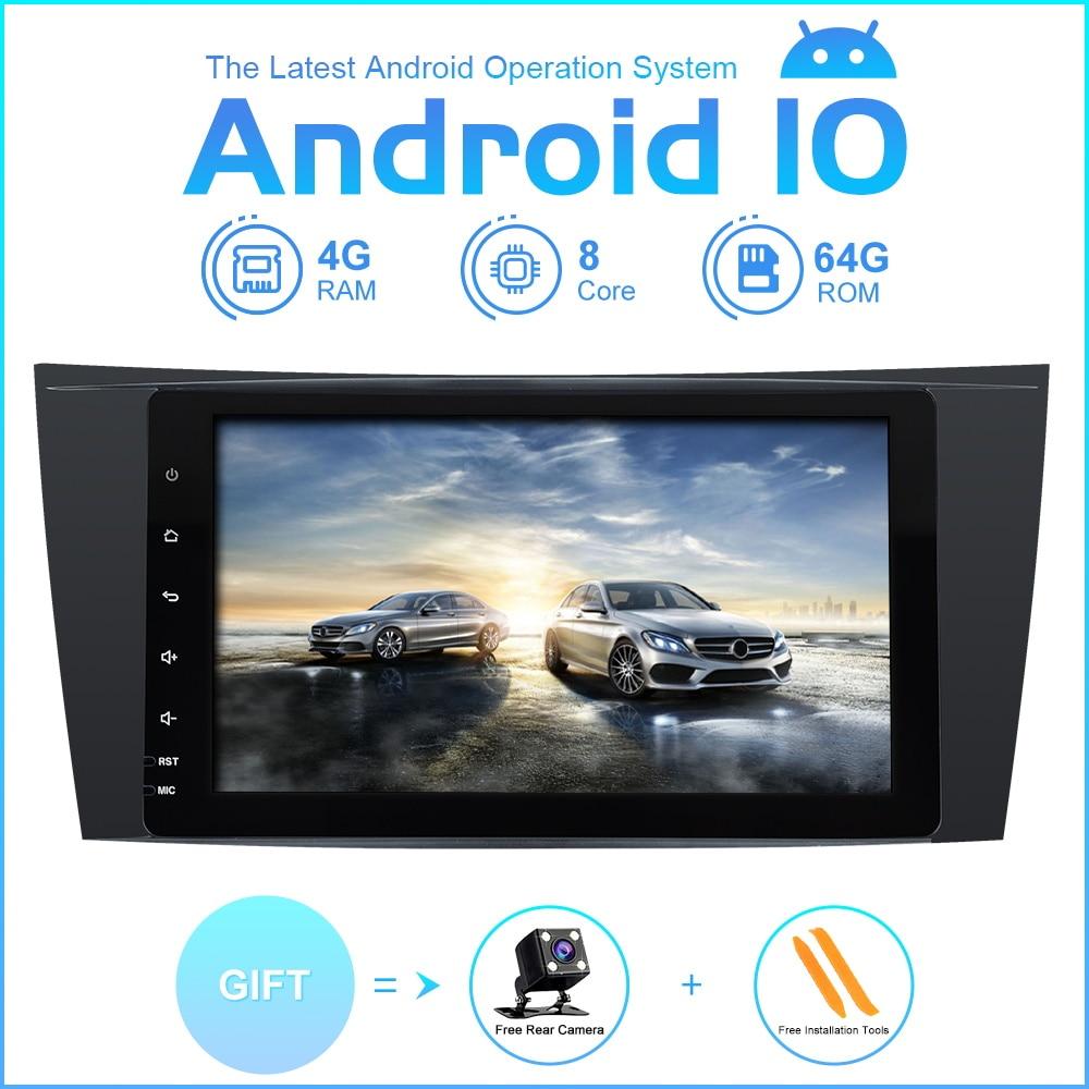 ZLTOOPAI ocho Core coche reproductor Multimedia Android 10 estéreo para coche para Mercedes Benz Clase E W211 E300 CLK W209 CLS W219 GPS Radio