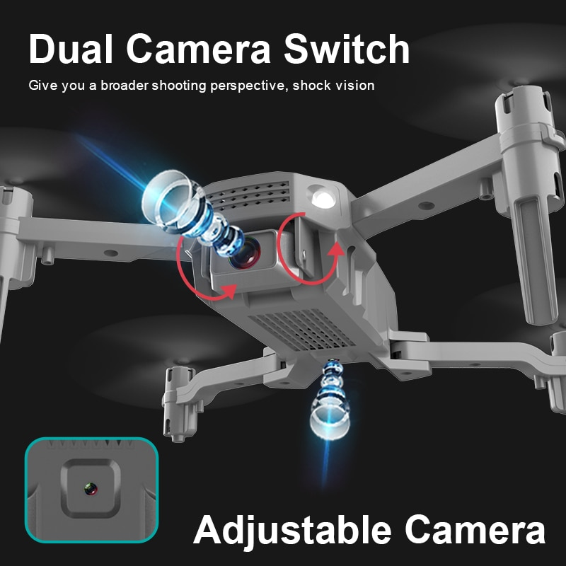 2021 R16 Mini Drone 4K Profesional Camera HD Wifi FPV Drone AIR Pressure Fixed Height Four-Axis  Rc Helicopter Camera Dron Toys enlarge