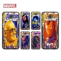 marvel avengers retro poster for samsung galaxy j8 j7 j6 j5 j4 j3 j530 j730 duo core eu prime star 2018 2017 2016 phone case