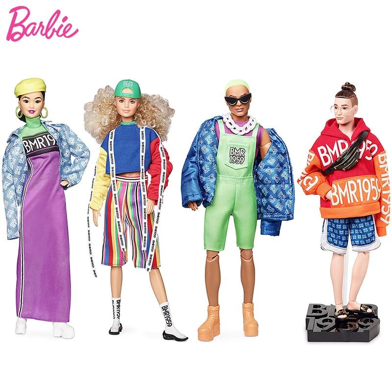 Muñeca Barbie Ken Original BMR1959, muñeco informal de moda urbana para chicas,...