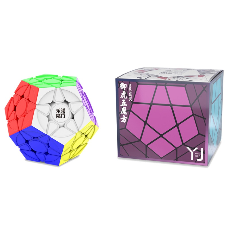 YongJun YJ YuHu M Magentic Magaminx Magic Cube Twist Wumofang Cubo Magico Toy Magnetic version Megaminx cube for kids gifts