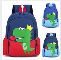 Cartoon Dinosaur Kids School Bags For Boys Kindergarten School Backpacks for Girls Creative Animals Kids Bag Mochila Infantil