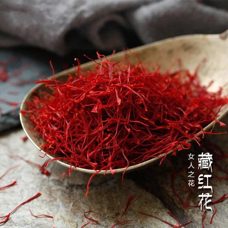 الزعفران جودة عالية نقية الطبيعية وصمة عار الزعفران الدورة الدموية زانغ هونغ هوا
