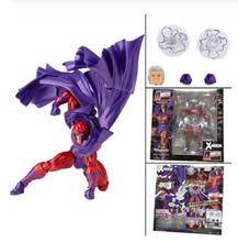 18cm Marvel increíble Yamaguchi Revoltech serie NO.006 Magneto colección de figuras de acción muñeca de juguete de regalo