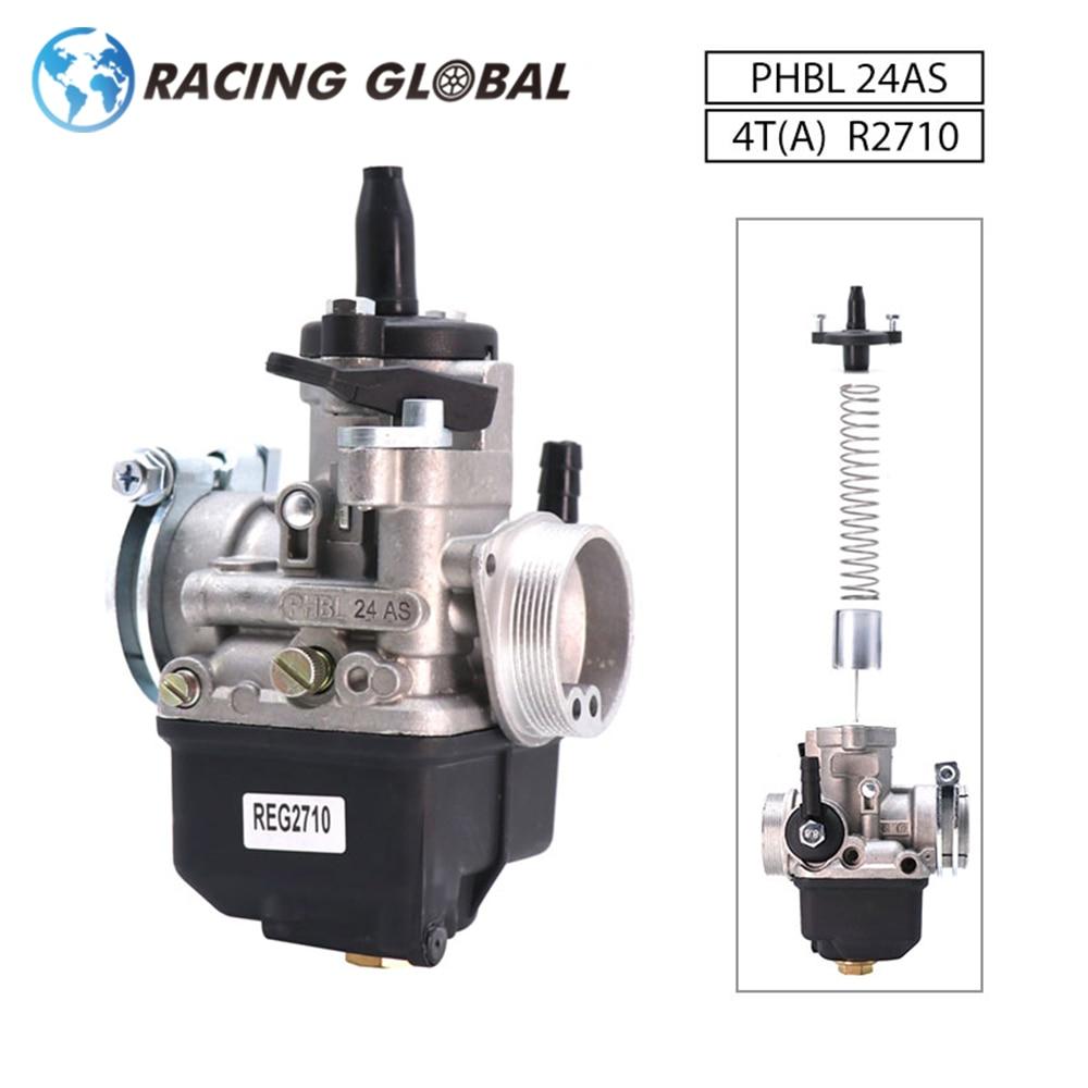 ALCON-Dellorto Carburetor ، 24 مللي متر ، PHBL 24AS 4T(A) R2710 ، لـ 50-250cc ATV ، عالمي ، سباق ، دراجة نارية