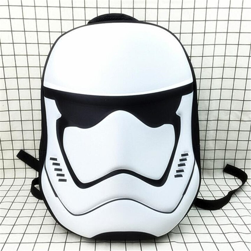 Movie Star Wars Cosplay Props Imperial Stormtrooper Darth Vader Cos Schoolbag Backpack