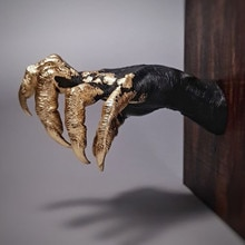 Devil Arm Figurines Home Decoration For Wall The Witch's hand Wall Hanging Features Creative Props L