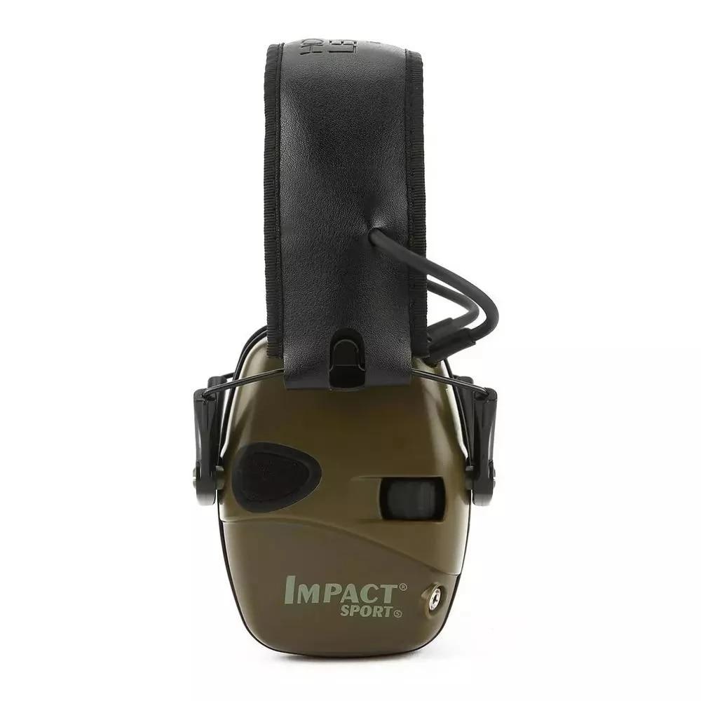 ¡Anti-ruido de impacto Protector oreja electrónica orejera para disparar caza ruido reductor...